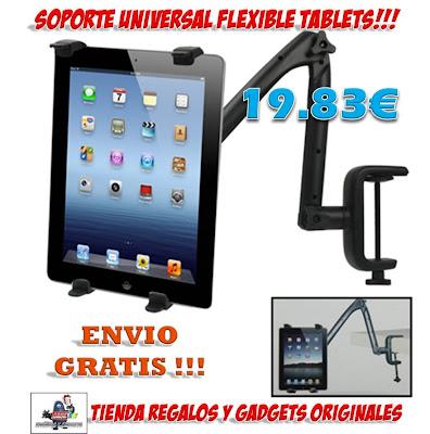 soporte universal tablet