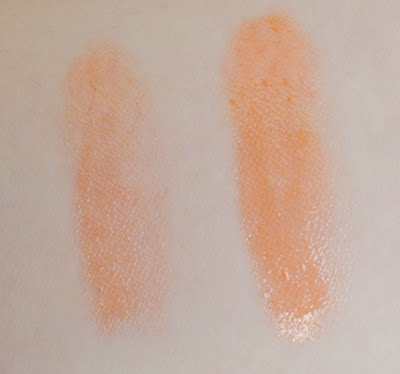 Etude House Sweet Recipe Dear My Jelly Lips JOR201 swatched on arm