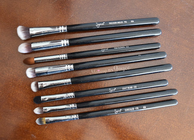 Sigma Eye Brushes Review