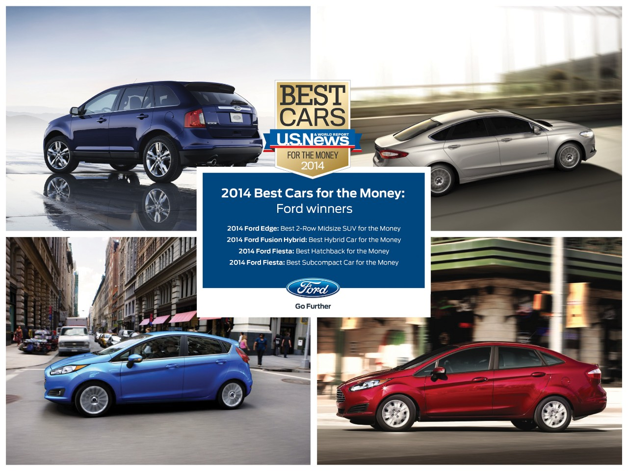U.S. News & World Report Make Ford the Most-Awarded Brand