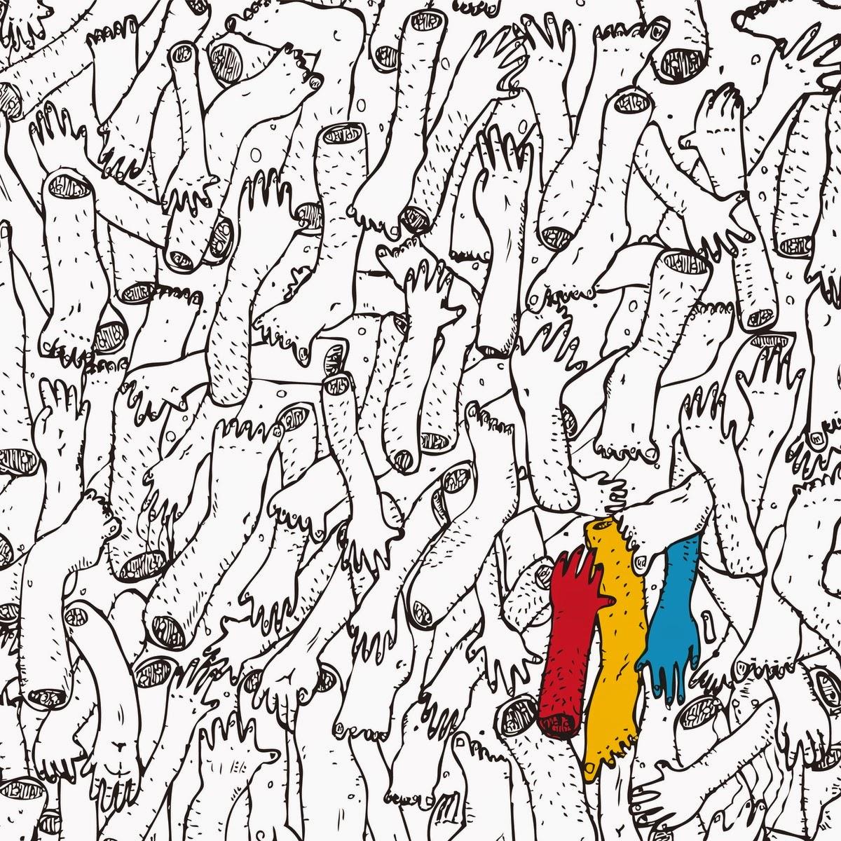 The indie coloring book - Me Hubiera Gustado Ver Un Libro Para Colorear Concebido Por M Sicos Como Jimmy Hendrix Frank Zappa David Bowie Led Zeppelin The Beatles Yes