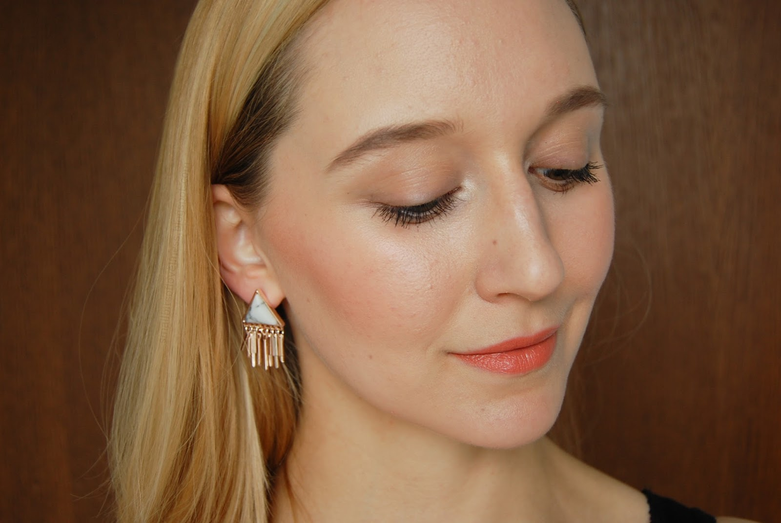 Lily Lolo Just Peachy Pressed Blush, Mineral Foundation Blondie, Nudus Lipstick Fairy Tales