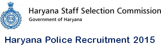 Haryana Police Recruitment 2015 - Constable SI 7200 Posts @ www.hssc.gov.in