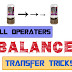 All Telecom Operators Balance Transfer Tricks