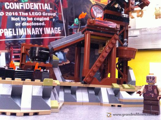 LEGO Senhor dos Anéis - A forja orc de Isengard