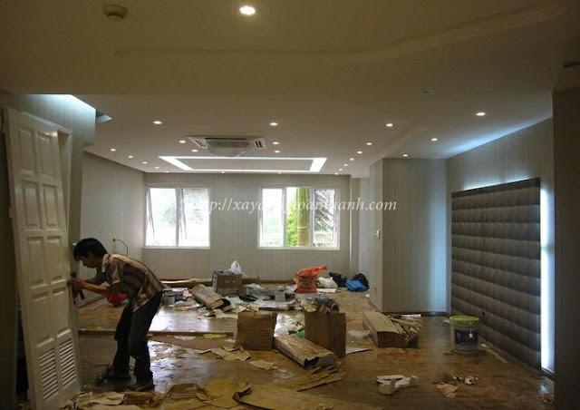 hợp đồng sửa nhà trọn gói