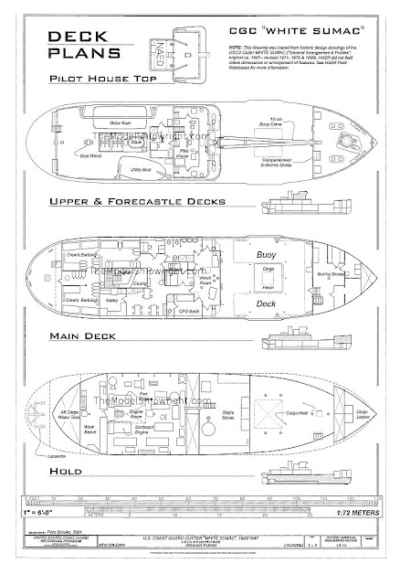 Free Ship Plan from The Model Shipwright TheModelShipwright.com