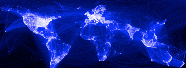 interconnected global network