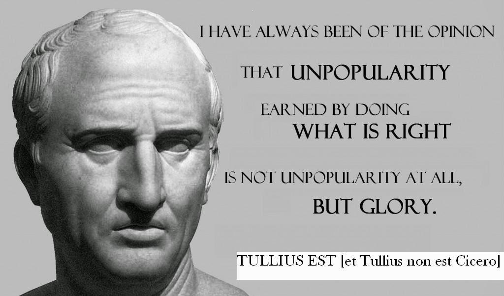 Tullius est [et Tullius non est Cicero]