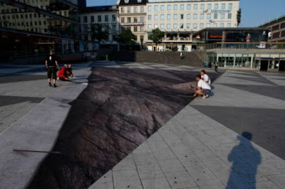 خدعة بصرية رائعة في ستوكهولم-منتهى