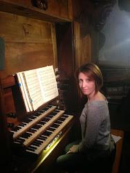 Les professeurs d'orgue: Marie-Cécile LAHOR