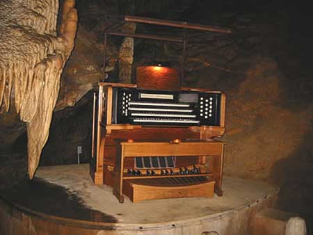 Most Unusual Musical Instruments In The World Stalacpipe Organ