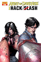 Army of Darkness vs. Hack/Slash #1 Cover