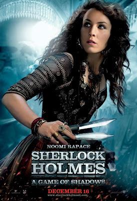 Sherlock Holmes A Game of Shadows Naomi Poster