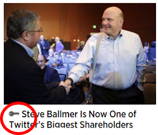 WSJ Steve Ballmer is Now One of Twitters Biggest Shareholders