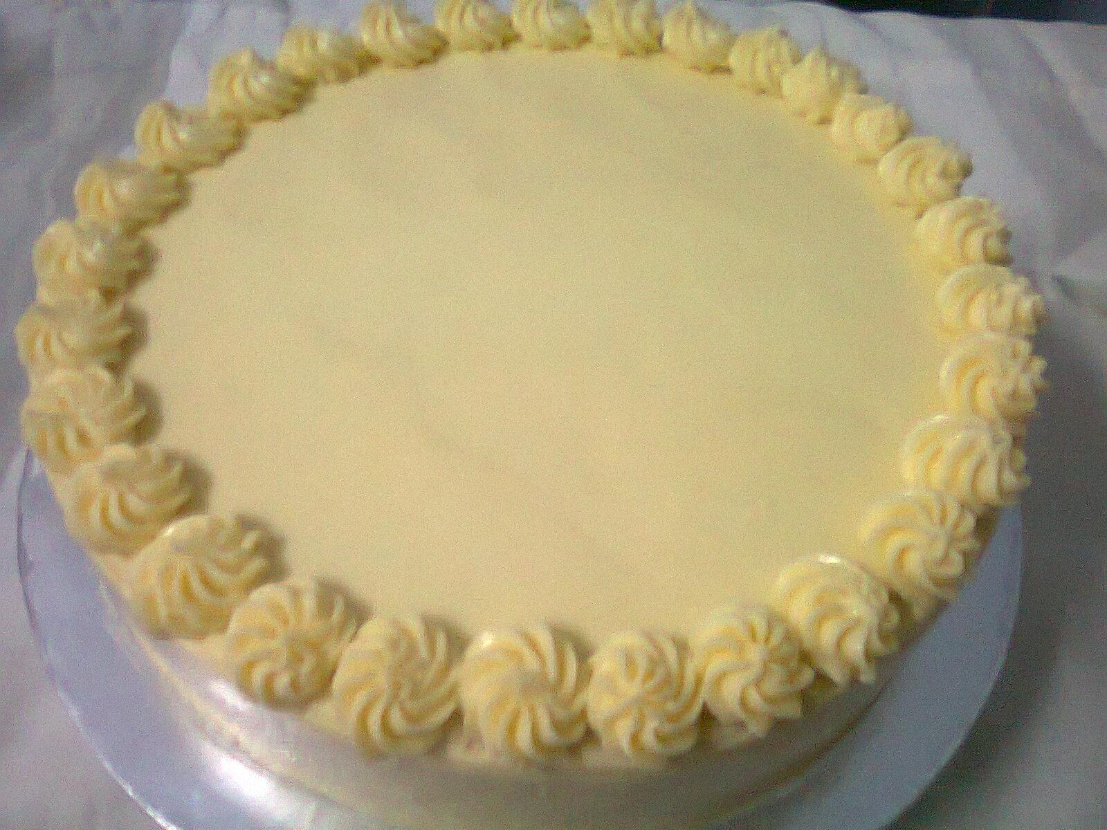 Icing Kek Oren