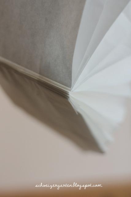 basteln mit kindern gemusegarten bild, ein schweizer garten: diy - schneller papierstern aus butterbrottüten, Design ideen