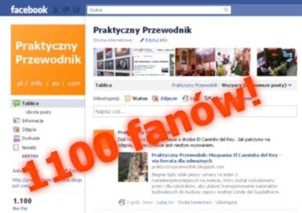 Fanpage Turystyka Facebook