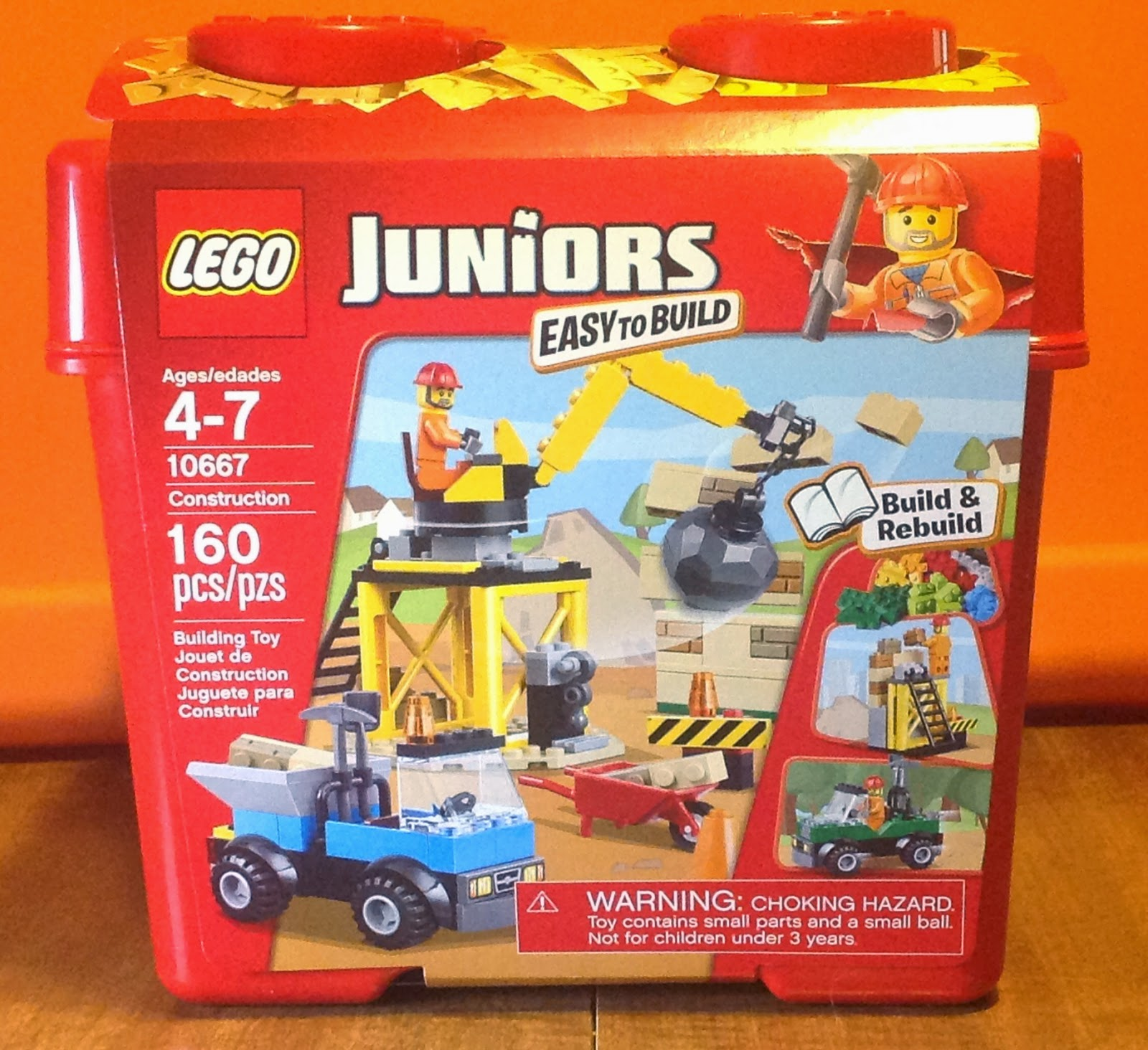 LEGO Juniors Construction Review For Mobile Frame Zero