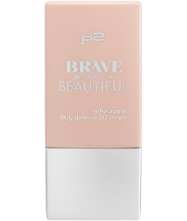 Preview: p2 Limited Edition: Brave and Beautiful - all-purpose daily defense DD cream - www.annitschkasblog.de