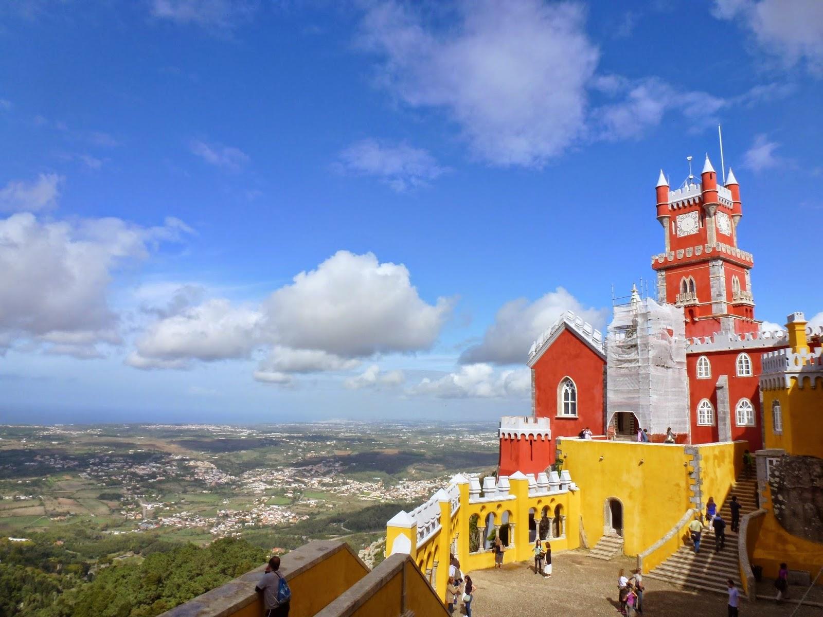 Queluz e Sintra (Portugal): dá pra ir de cadeira de rodas? Cadeira  #B88F13 1600 1200