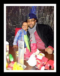 Late Mohamed Ahmed with his son
