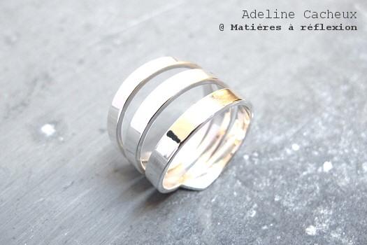 Bague argent Adeline Cacheux