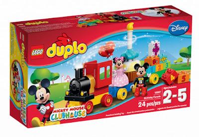 TOYS: JUGUETES - LEGO Duplo : Disney 10597 Tren Desfile de Cumpleaños Mickey Mouse & Minnie Mouse  Birthday Parade | ClubHouse Producto Oficial 2015 | Piezas: 24 | Edad: 2-5 años Comprar en Amazon
