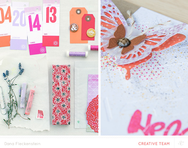 Moodboard to Card by @pixnglue #SCinspires