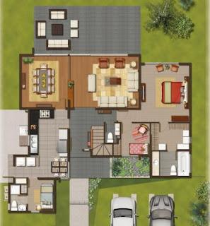 Planos de casas modelos y dise os de casas noviembre 2012 - Planos de casas modernas de lujo ...