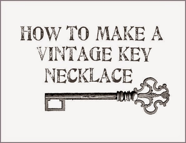 Key necklace tutorials