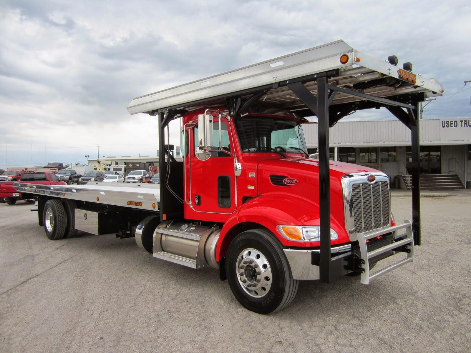 boom truck sales rental 2015 peterbilt 4 car hauler jerr dan. Black Bedroom Furniture Sets. Home Design Ideas