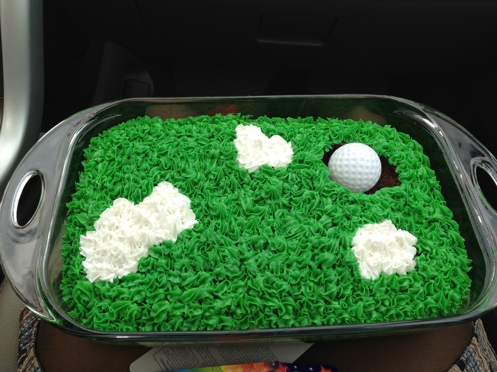 Just Roll With It Super Easy Golf Cake