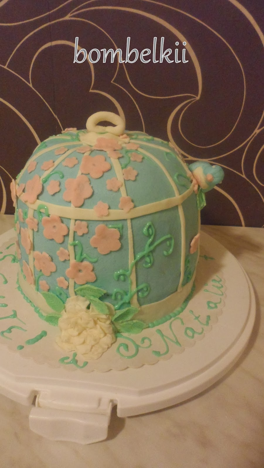 Torte Vogelkäfig