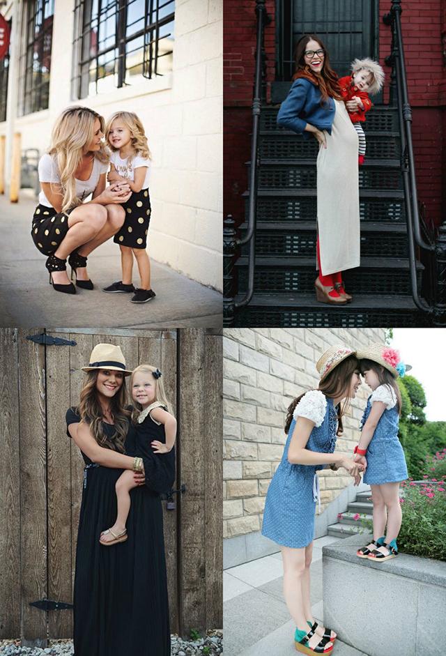 Look para madre e hija iguales