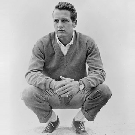 Pauk Newman laid back casual style classic