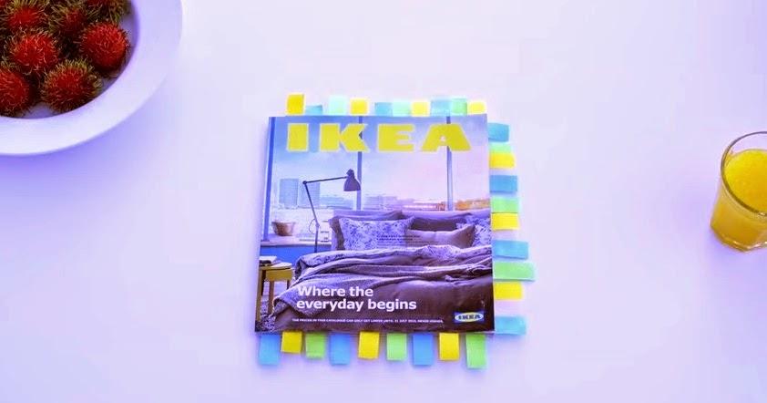 Ikea provoca apple con il nuovo catalogo ikea 2015 semplicemente io - Ikea nuovo catalogo 2015 ...