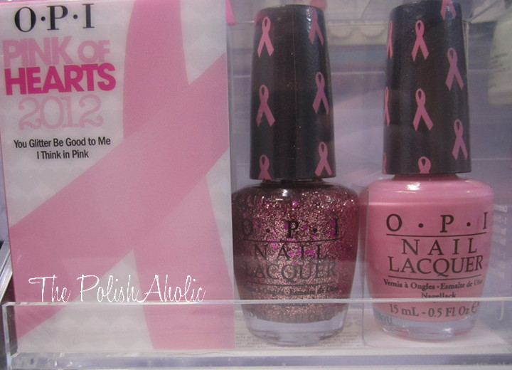 OPI Pink of Hearts 2012 Swatches  amp  ReviewOpi Pink Of Hearts 2012
