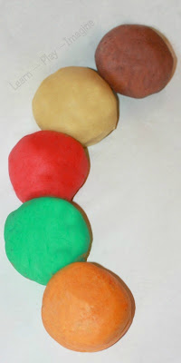 Fall Playdough Recipe