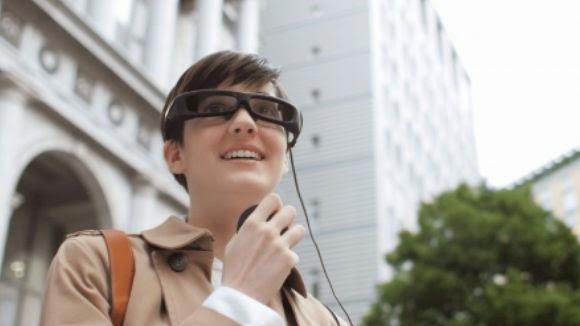 Τα Smart γυαλιά της Sony έχουν διαφορετική δομή από τα Google Glass