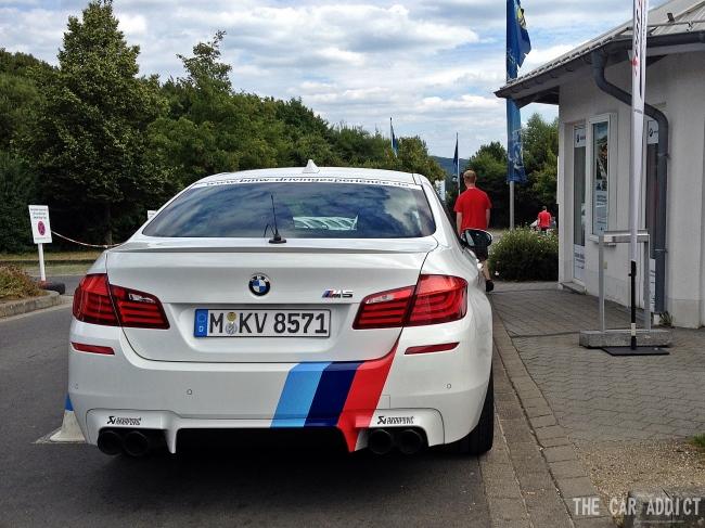 BMW M Ring-Taxi BMW M5 F10