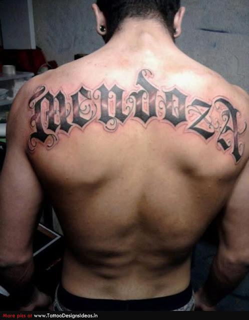 Letter Tattoo