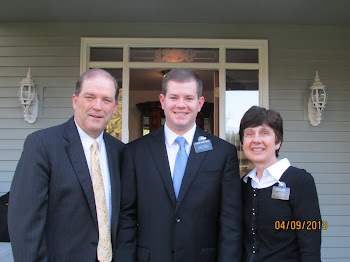 Elder Charleson with President & Sister Young