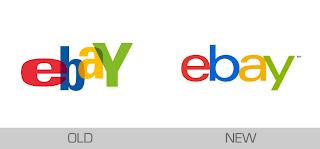 Logo Lama eBay dan Logo Baru eBay 2012