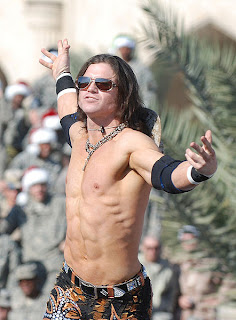 Botched Leg Drop - John Morrison
