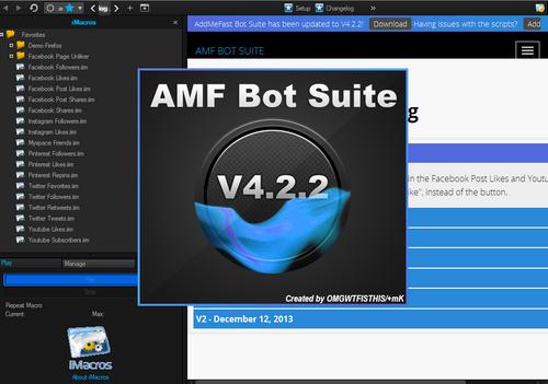 AddMeFast Bot Suite 4.2.2 full