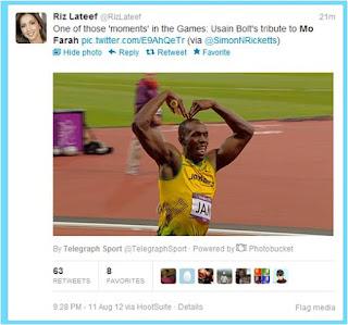 Usain Bolt Mobot Mo Farah Olympics London 2012