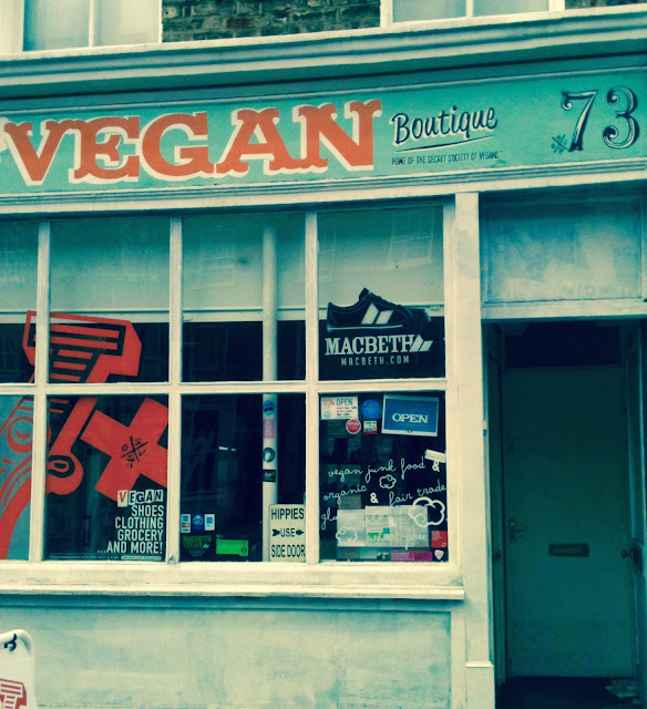 Vx the secret society of vegans shop, kings X, London