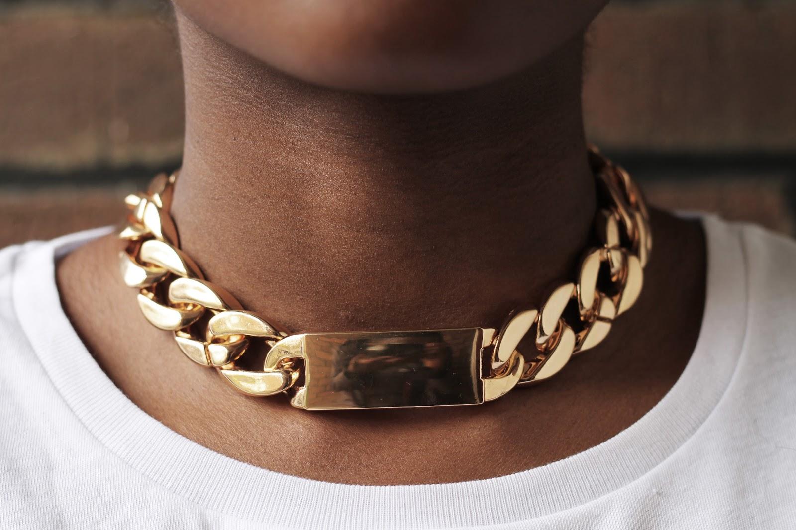 Celine Inspired Necklace Celine id Necklace