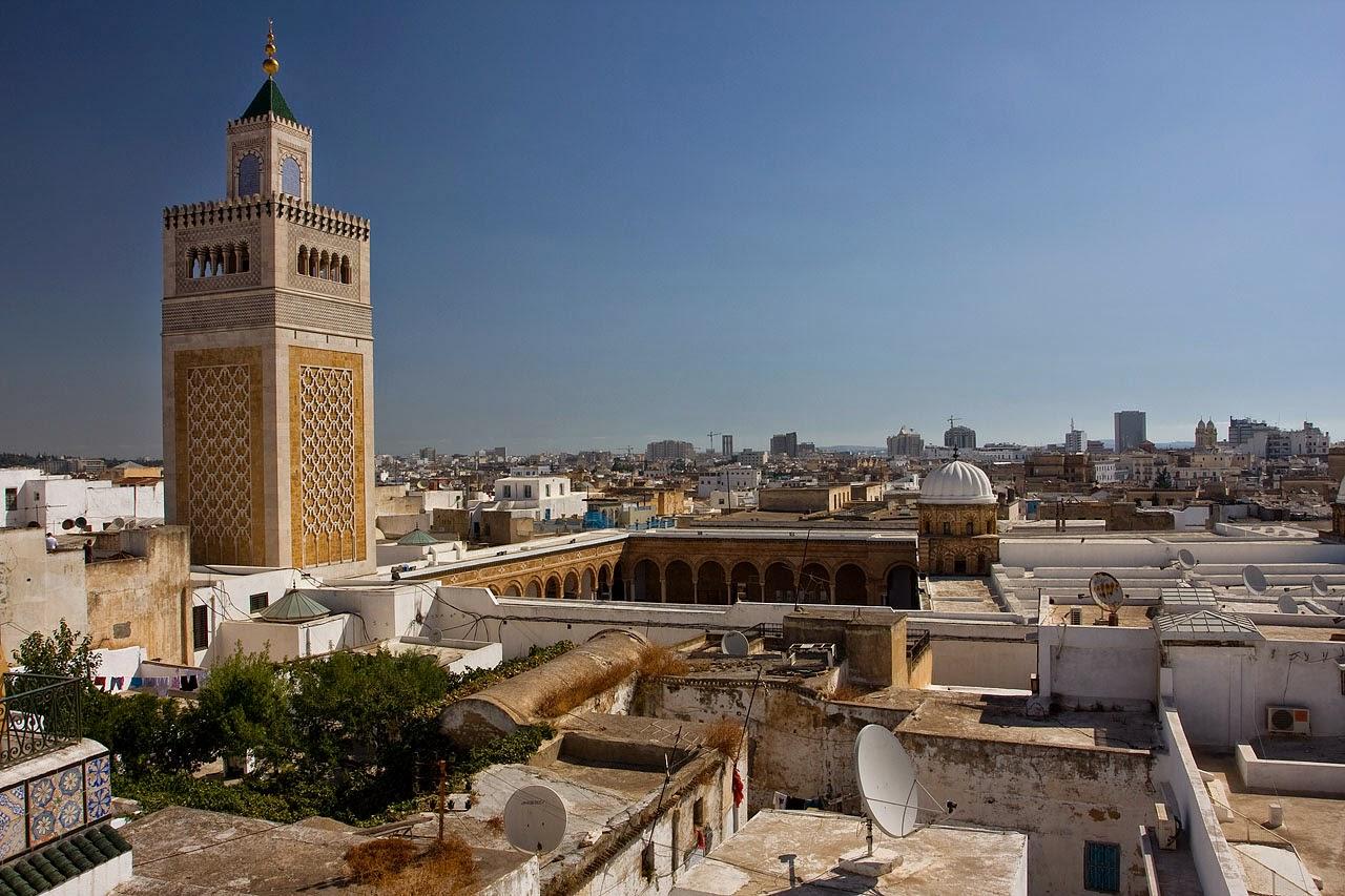 Al-zaytuna Mosque, Tunisia